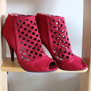 Red Christian Sirano Heels